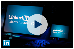 How is social professional networking changing the recruiting landscape? Here's a special recording from LinkedIn Talent Connect 2011. Jeff Weiner, LinkedIn CEO, reveals: LinkedIn's vision for sourcing talent in a social networking world What new recruiting tools LinkedIn will unveil What it means for you and your recruiting team